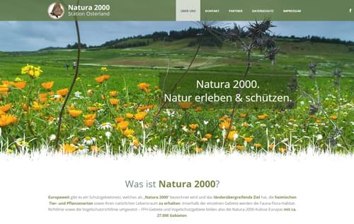 Referenz Natura 2000 Osterland