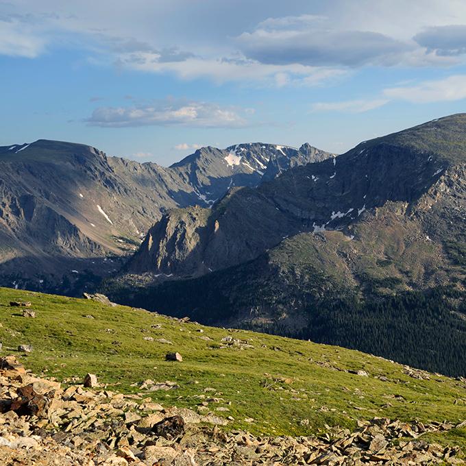 Zusammenhängende Bergketten