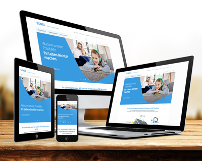 Webdesign Senec
